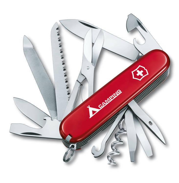 Нож Victorinox Ranger, 91 мм, 21 функция, красный с логотипом