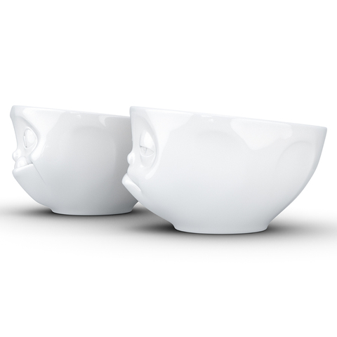 Набор из 2 чаш Tassen Snoozy & Tasty 200 мл белый