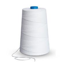 Нить прошивная лавсановая ЛШ 180 белая (1000 метров), упаковка пленка