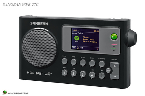 Sangean WFR-27C