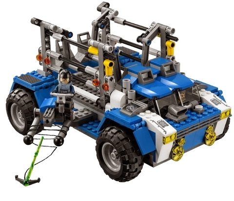 LEGO Jurassic World: Охотник на тираннозавра (Охота на Ти-рекса) 75918 — T-Rex Tracker — Лего Мир юрского периода