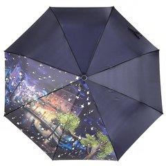 Зонт женский, город с каплями, Planet PL154-1