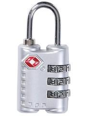 Замок багажный Caribee Citadel TSA Lock Silver