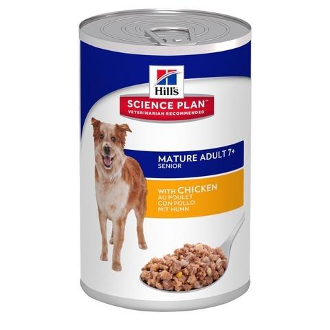 Hill's Science Plan  влажный корм для пожилых собак с курицей Active Longevity 6 штук