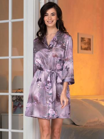 Рубашка халат на пуговицах MIA-Amore АВРОРА 3657