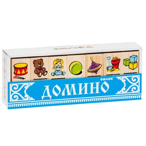 Домино Томик Игрушки арт. 5555-3