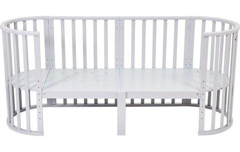 Кроватка детская Polini Kids Simple 911, серый
