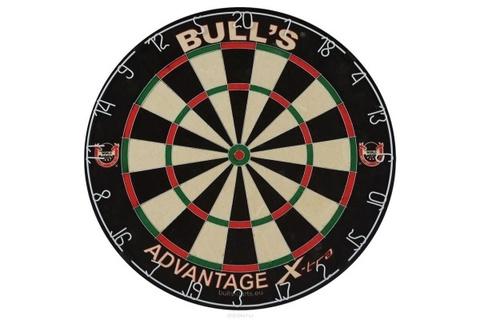 Мишень для дартса Bull's Advantage Xtra, сизаль, бесскобная, 0.6 мм (артикул 68002)