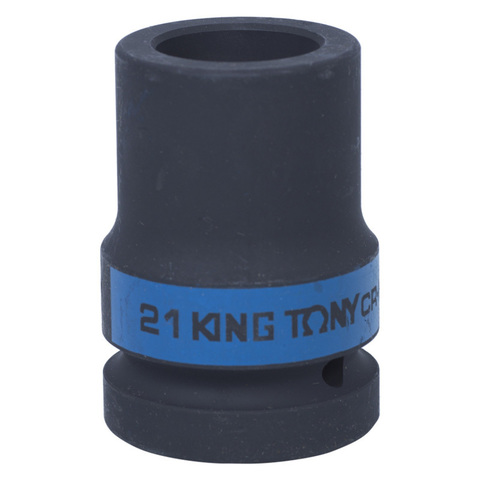KING TONY (853421M) Головка торцевая глубокая ударная четырехгранная 1