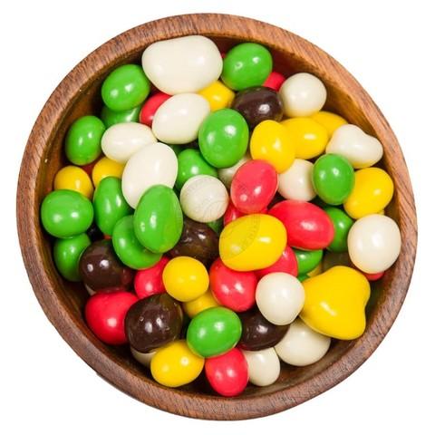 Изюм в цветной шоколадной глазури 500 гр.