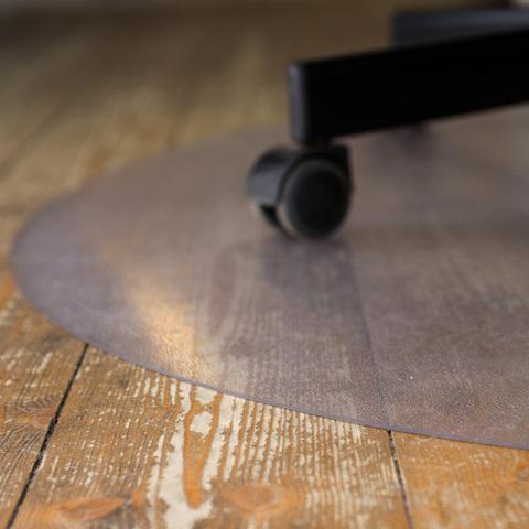 Защитный коврик под кресло D.900 мм шагрень