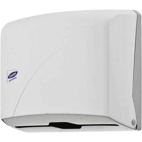 Диспенсер для полотенец лист Luscan Professional белый