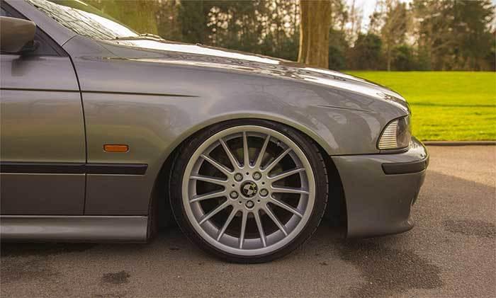 BMW E39 на винтовой подвеске