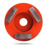 Алмазная шлифовальная фреза Messer тип H 25/30 для средней шлифовки (3 сегмента)