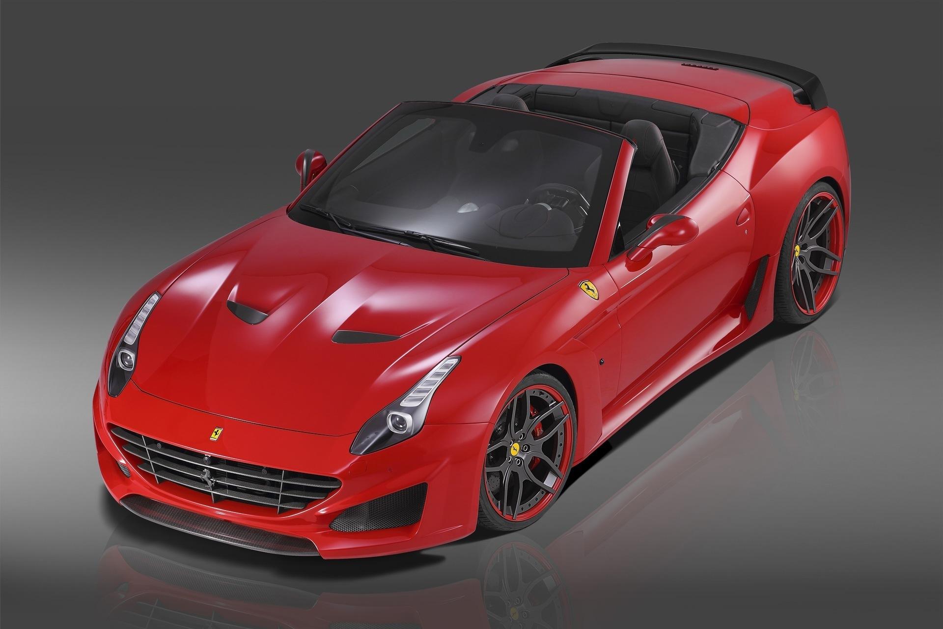 Карбоновые вставки в зеркала Novitec Style для Ferrari California