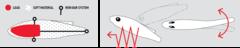 Воблер вертикальный LUCKY JOHN Vib Soft 61, цвет 105, арт. LJVIBS61-105