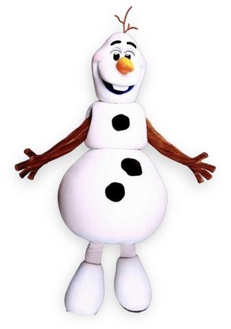 Снеговик новогодний Олаф