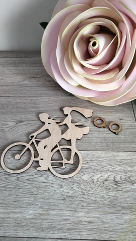 Пара на велосипеде арт: 1187