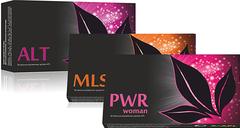 APL. Стартовый набор аккумулированных драже APLGO. ALT+MLS+PWR woman для оздоровления и очищения женского организма