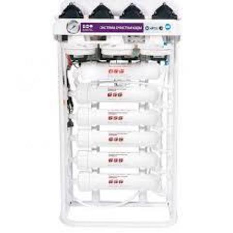 Водоочиститель RO 588 BW - 220EZ (четыре мембаны 75G, 2 насоса ПД, 63л/ч или 1500л/сут), R