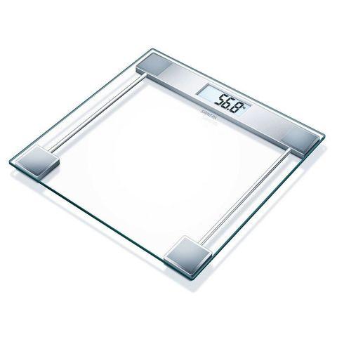Весы напольные электронные Sanitas (S-SGS06) макс.150кг серебристый