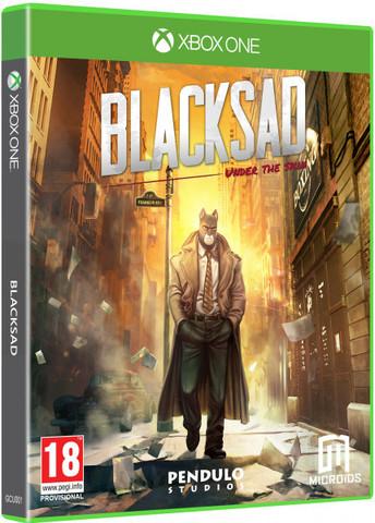 Blacksad: Under the Skin Limited Edition (Xbox One/Series X, русская версия)