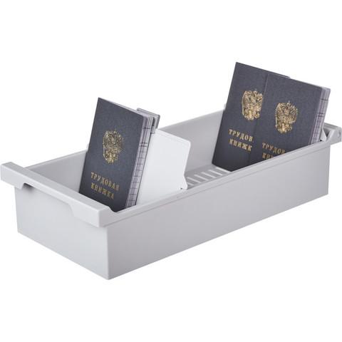Картотека для карточек Exacompta А6 на 1200 карточек (347x166x79 мм, открытая)