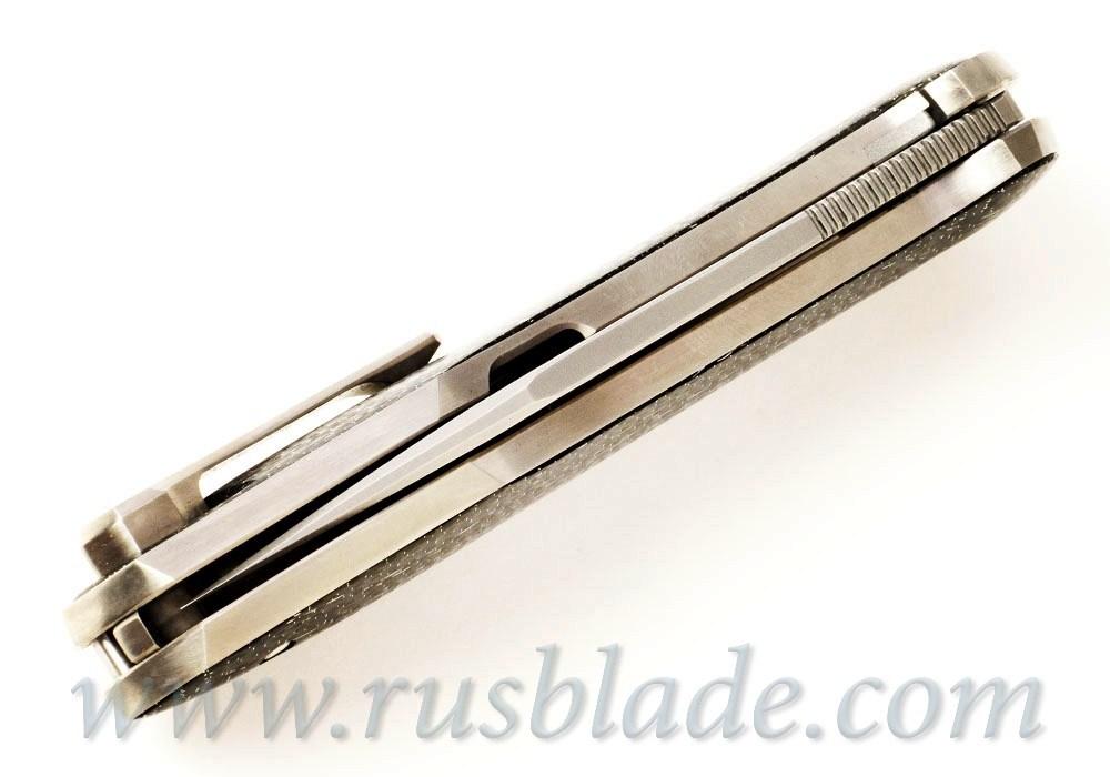 Cheburkov Russkiy M390 CF Exclusive one-off - фотография