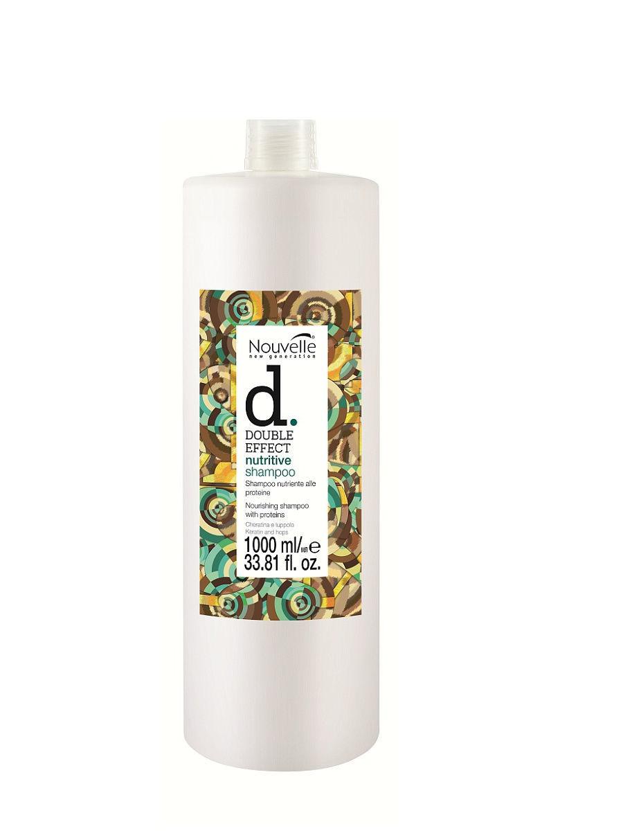 Питательный шампунь Nouvelle Double Effect Nutritive Shampoo 1000мл