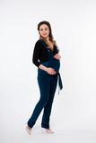Комбинезон для беременных 04499 зеленый