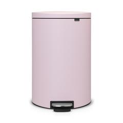 Мусорный бак FlatBack+ (40л), Минерально-розовый