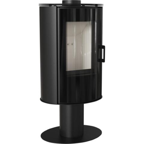 Печь-камин Kratki KOZA/AB/S/N/GLASS (сталь) (8 кВт) Под заказ