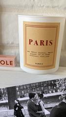 Свеча «Paris». Роза, Уд.
