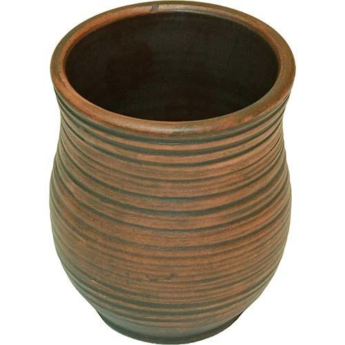 Стакан глиняный с глазурью внутри (200 мл)