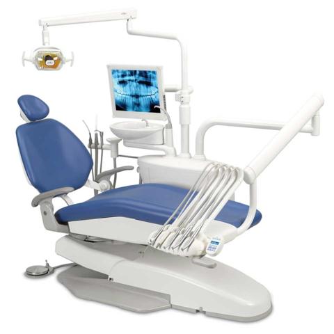 A-Dec 200 стоматологическая установка с верхней подачей инструментов
