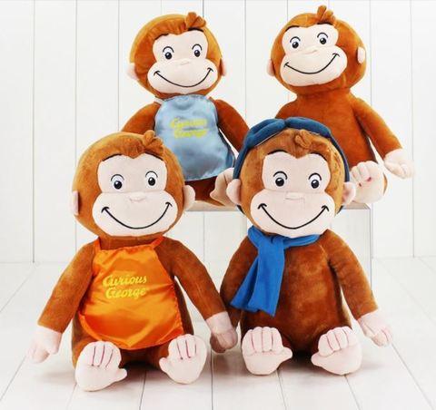 Любопытный Джордж мягкая игрушка обезьянка