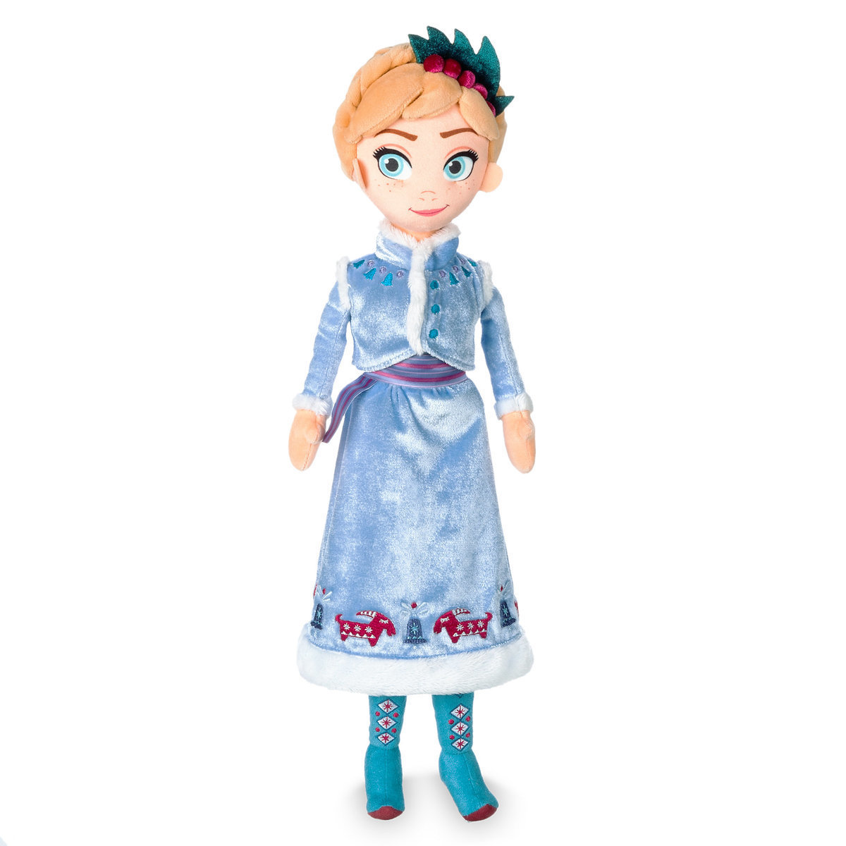 Мягкая игрушка Анна Олаф и холодное приключение 48 см