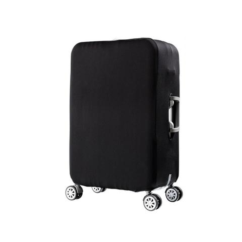 Чехол для чемодана черный размер M