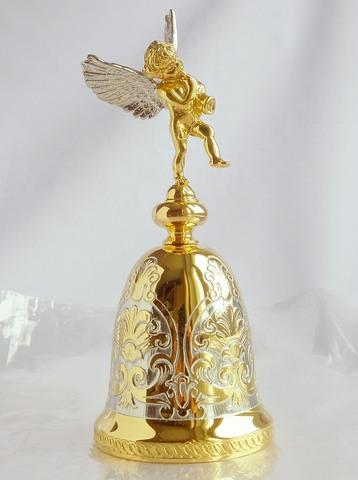 Колокольчик «Ангелок» позолоченный