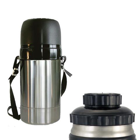 Термос универсальный (для еды и напитков) Амет DU Дорожный (0,75 литра) на ремне