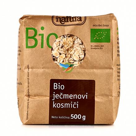 Хлопья ячменные органические Bio, Natura, 500 г