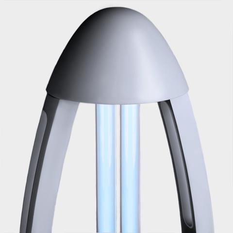 Бытовой бактерицидный ультрафиолетовый Elektrostandard светильник UVL-001 Серебро