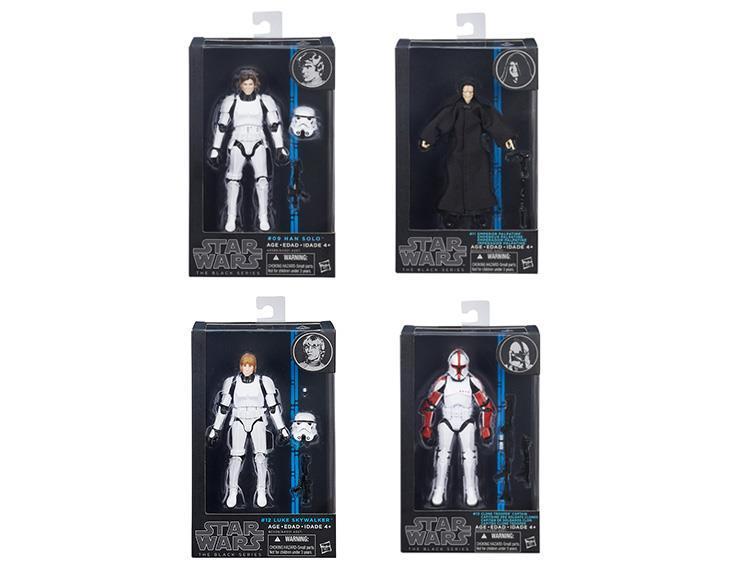 Звездные войны фигурка 15 см Black 2015 Series 01