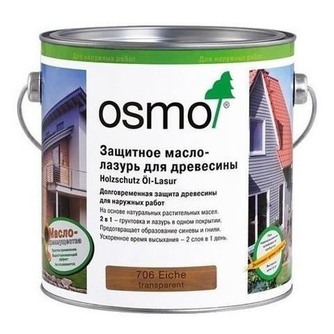 Защитное масло лазурь для древесины OSMO Holzschutz Öl-Lasur
