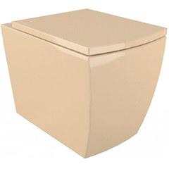 Подвесной унитаз Arcus G 050 бежевый, дюропластовое сиденье с микролифтом
