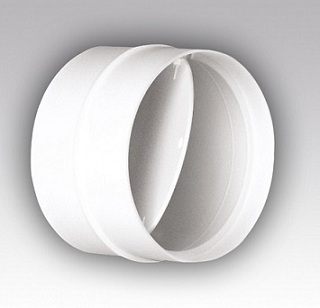 Круглое сечение 100 (диаметр 100 мм) Соединитель-муфта с обратным клапаном 100 мм b7b1abd1458a28bc91ddfaba93ba18db.jpg