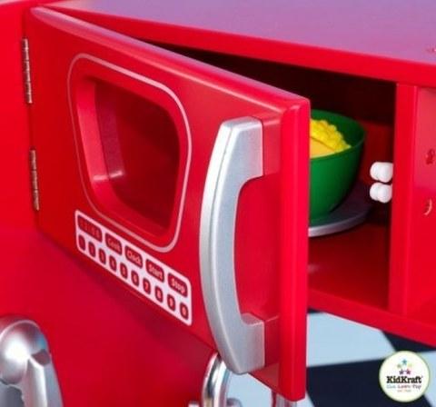 Кухня из дерева KidKraft Винтаж Красный 53173_KE