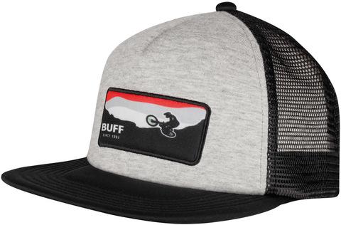 Кепка с прямым козырьком детская Buff Trucker Cap Rift Black фото 1