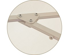 Зонт Ø 2.5 м (8) без волана (алюминевый каркас с подставкой, тент OXF 300D) ПК