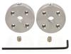 Втулки на вал мотора (⌀ 4 мм, пара)